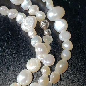 Silpada freshwater pearl bracelets